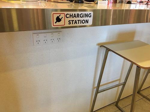 クライストチャーチ空港の充電場所