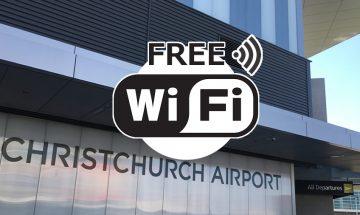ニュージーランド クライストチャーチの無料WiFi