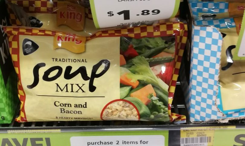 クライストチャーチのスーパーで見つけたおいしい物/KINGのスープ