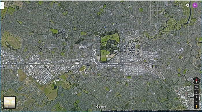 Google航空写真 Christchurch